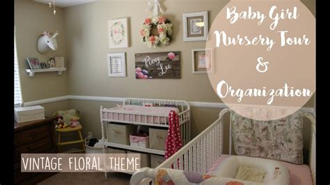 Baby Girl Nursery Tour & Organization