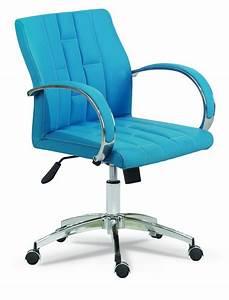 Retro Stühle Günstig : retro b rostuhl drehstuhl mit armlehne hellblau g nstig m bel star ~ Eleganceandgraceweddings.com Haus und Dekorationen