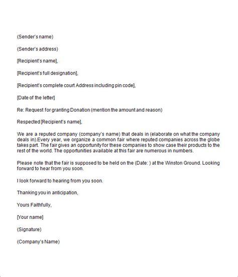 donation letter template  commercewordpress