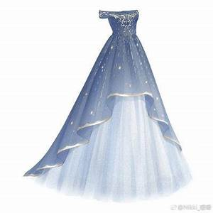 Drawn wedding dress cute dress - Pencil and in color drawn ...