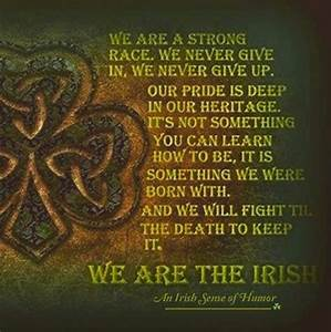 St. Patrick's... Ireland Drinking Quotes
