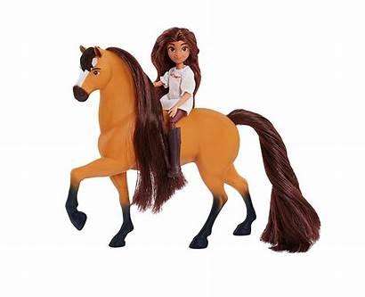 Spirit Lucky Riding Horse Doll Pru Hest