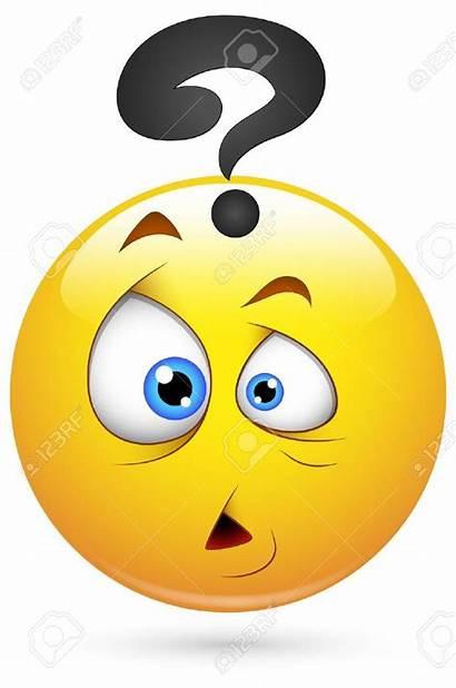 Emoji Smiley Face Puzzled Vector Funny Emoticons