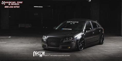 audi  niche essen  wheels matte black