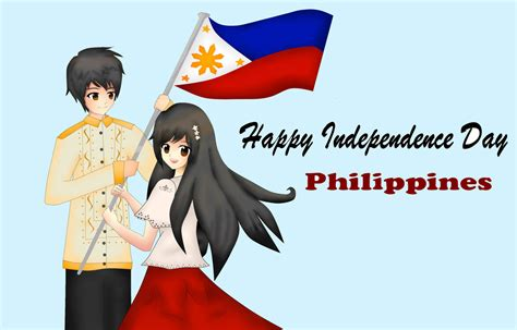 happy independence day philippines cartoon