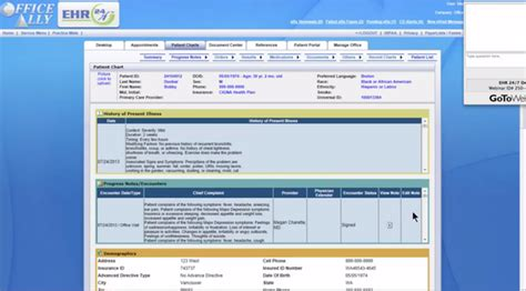 Office Ally by Ehr 24 7 Software Office Ally Free Demo Reviews And