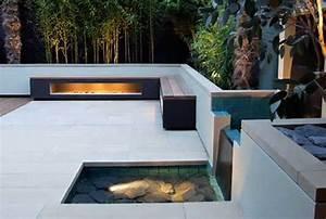 terrassengestaltung mit wasser freshouse With französischer balkon mit swimming pool kleiner garten