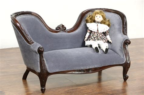 kid sized furniture sold style carved mahogany vintage child or 11936