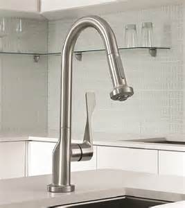 the best kitchen faucet commercial style kitchen faucet new axor citterio prep faucet by hansgrohe
