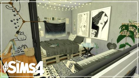 sims  apartment build grungy industrial loft