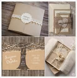 diy faire part mariage decoration mariage rustique