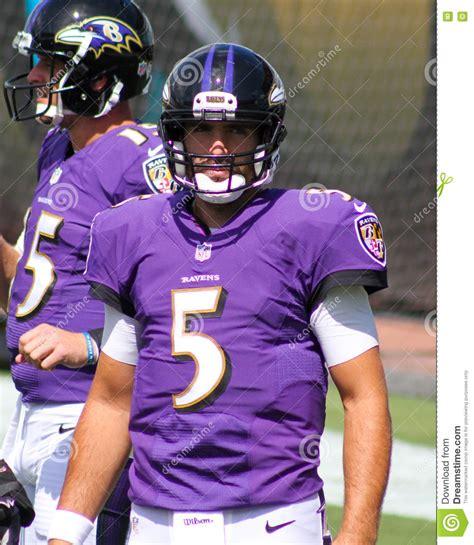 Joe Flacco editorial stock image. Image of game, baltimore ...