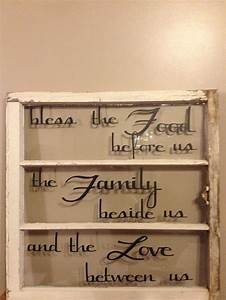Antique windows with vinyl quotes old window and vinyl for Best cricut for vinyl letters