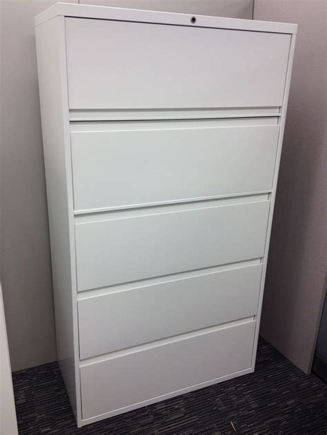 white lateral file cabinet 5 drawer lateral filing cabinet steelcase 900 series ultra