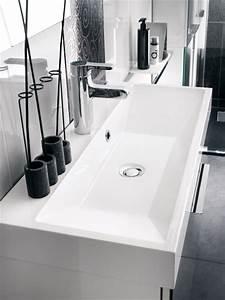 Meuble Profondeur 40 Cm : des meubles vasque de petite profondeur inspiration bain ~ Teatrodelosmanantiales.com Idées de Décoration