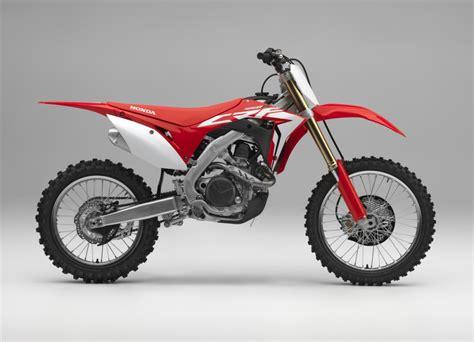 motocross bikes honda 2018 honda crf450r review specs new changes crf
