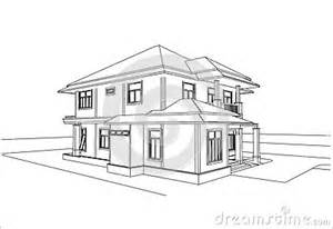 Decorative House Plan Sketches by Sketch Design Of House Vector Stock Vector Image 41895001