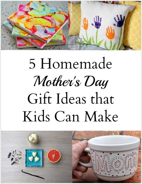 home made gifts for mothers day 5 more homemade mother s day gift ideas the write balance
