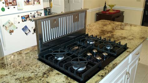 kitchen islands with cooktops granite kitchen island countertop with gas glass cooktop jimhicks yorktown virginia