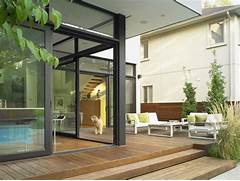 Glass Patio Design House Modern Minimalist Patio Design Home Design Inspiration