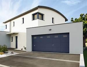 Porte de garage aluminium maconserpag for Porte de garage large