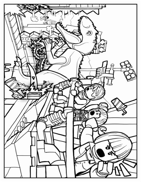 disegni da colorare di jurassic world 2 free printable jurassic world coloring pages