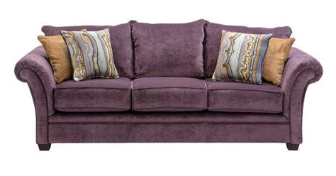 Who Makes Slumberland Sofas by Slumberland Furniture Quimby Collection Plum Sofa