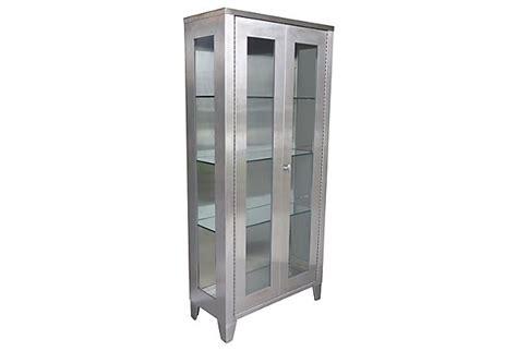 Steel Display Cabinet by Stainless Steel Industrial Display Cabinet Modernism