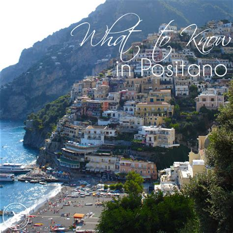 Positano Travel Guide And Tips