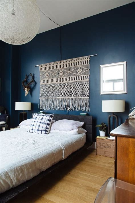 chambres bleues peinture noir et blanc chambre