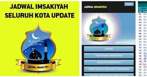 aplikasi android jadwal imsakiyah ramadhan