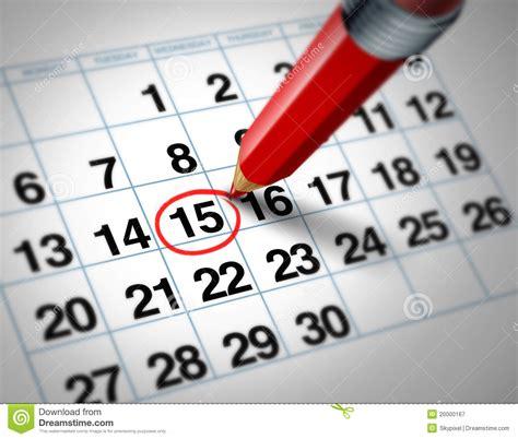Calendar date stock illustration. Image of planning ...