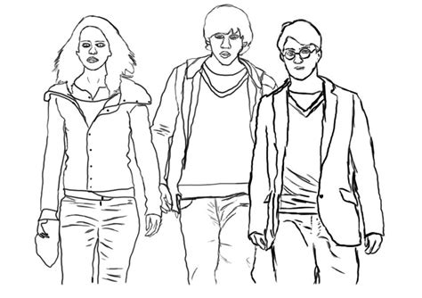Top 10 Awesome The Harry Potter Coloring Pages Your Kids