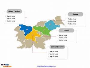 Free Slovenia Editable Map