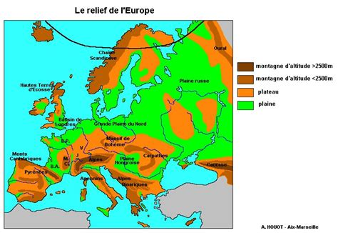 Carte Des Fleuves Et Montagnes D Europe by 301 Moved Permanently