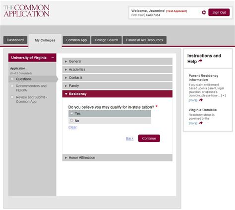 common application activities resume