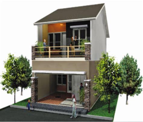 desain rumah tipe 21 minimalis 2 lantai modern dan keren