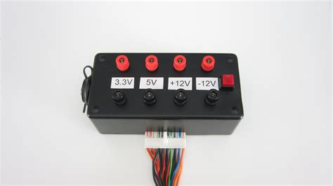 Pc Power Supply To Bench Power Supply by Turn A Computer Power Supply Into Bench Power Make