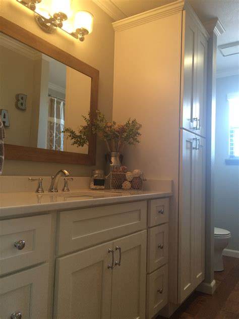 Bathroom Shaker Cabinets by White Shaker Elite Bathroom Cabinets By