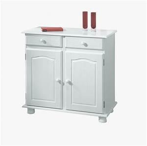 Credenza Fiona bianca, mobile soggiorno,ingresso moderno in legno