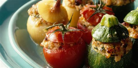 recette cuisine provencale les vrais légumes farcis à la provençale facile et pas