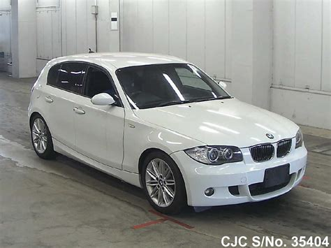 2007 bmw 1 series white for sale stock no 35404