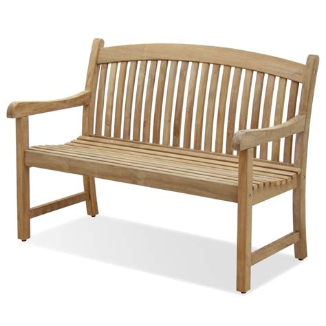 amazonia teak newcastle teak 4 feet bench teak patio
