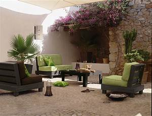 deco salon de jardin decorationguide With salon de jardin pour terrasse
