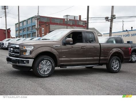 2015 f150 colors 2015 caribou metallic ford f150 lariat supercab 4x4