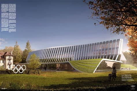 ioc headquarters olympic house concept architecture games