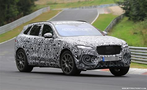 2019 Jaguar Fpace Svr Spy Shots