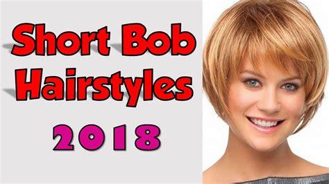 Short Bob Hairstyles & Haircuts 2018