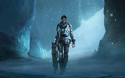 Gears 4k War Wallpapers Kait Artstation Games