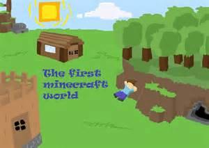 Minecraft World Drawings